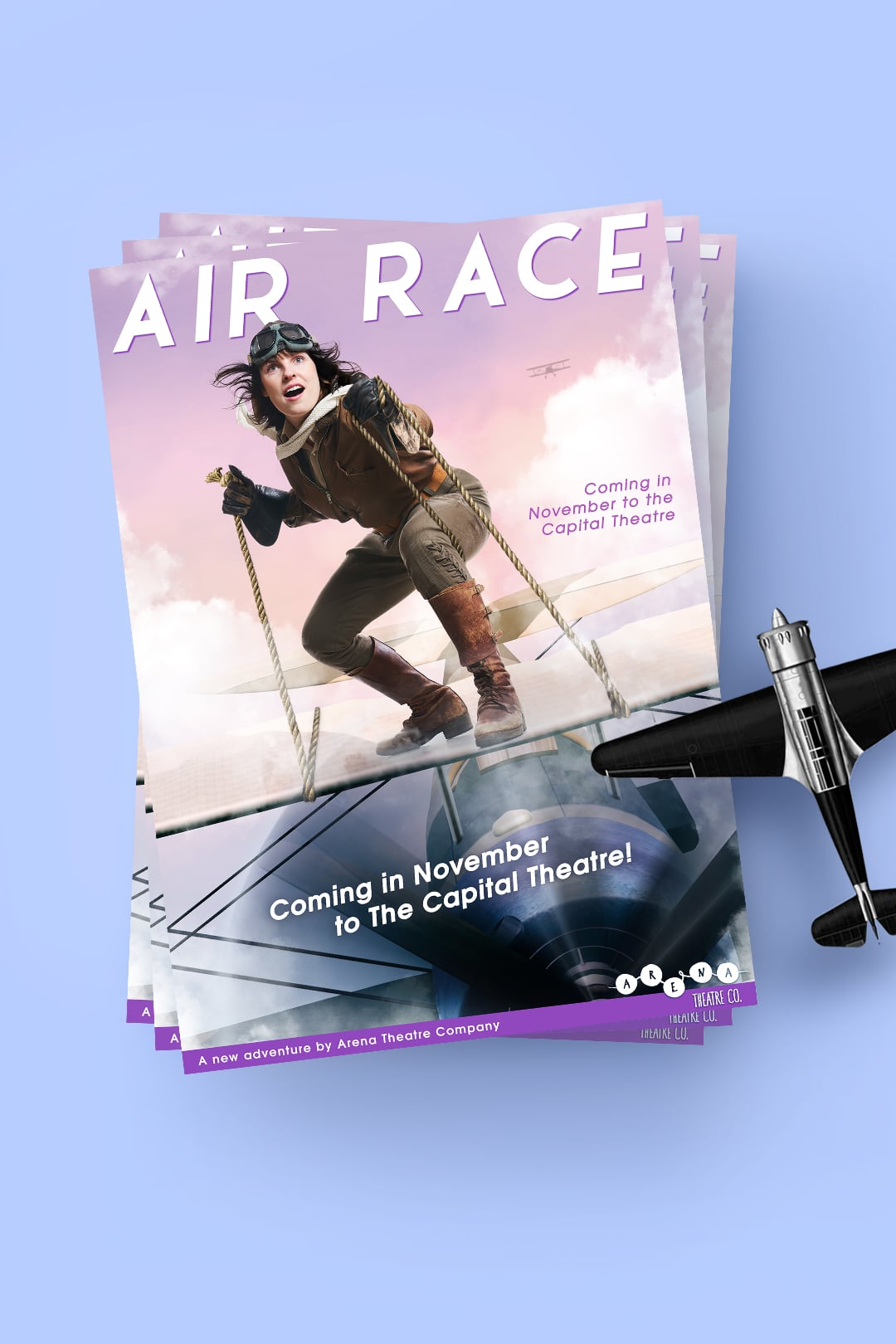 Air Race poster by Switched